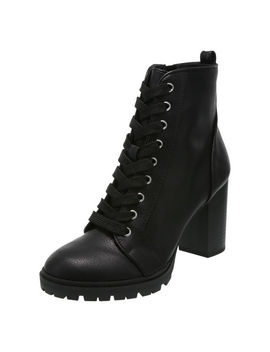 Women's Sandrene Lace Up Boot by Learn About The Brand Brash
