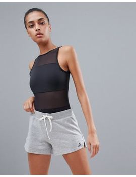 Reebok Grey Jersey Shorts by Reebok