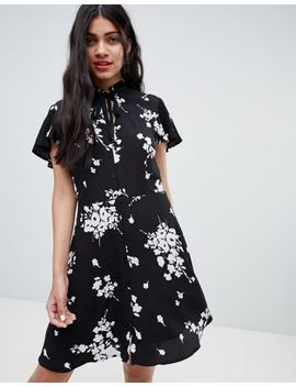 Pimkie Tie Neck Floral Dress by Pimkie