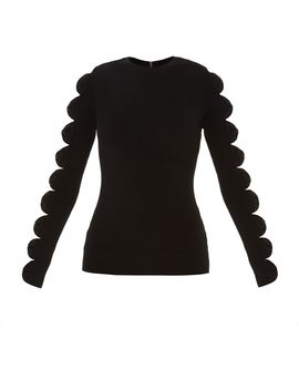 Yonoh Cut Out Bow Sleeve Jumper by Ted Baker