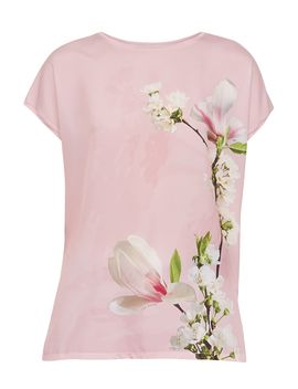 Sanndey Harmony Woven Front T Shirt by Ted Baker