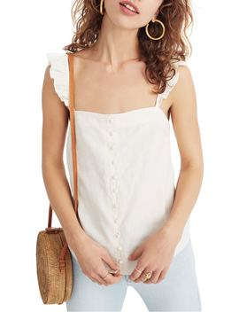 Ruffle Strap Camisole Top by Madewell