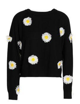 Appliquéd Wool Sweater by Paper London