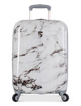 "Bianco Stone Print 21"" Hardside Spinner Suitcase by Heys"