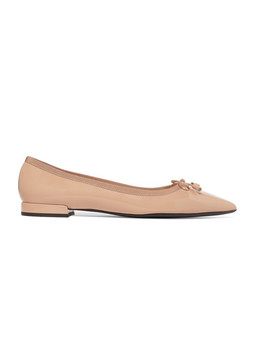 Patent Leather Ballet Flats by Prada