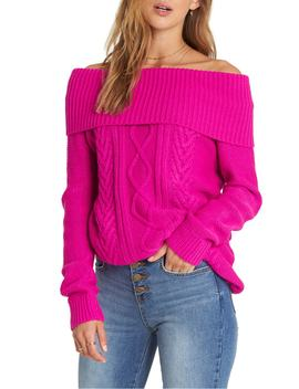 Off Shore Off The Shoulder Sweater by Billabong