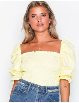 Sharp Smock Top by Nly Trend