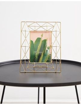 Chickidee Gold Wire Geometric Frame by Chickidee
