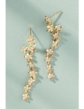 Climbing Flowers Drop Earrings by Anthropologie
