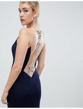 Jovani Cut Out Maxi Dress by Maxi Dress