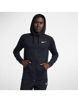 Nike Dri Fit Men's Full Zip Training Hoodie. Nike.Com by Nike