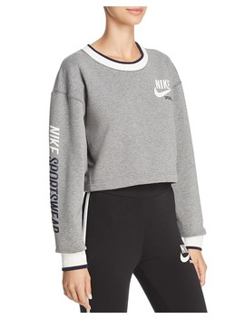 Reversible Cropped Sweatshirt by Nike