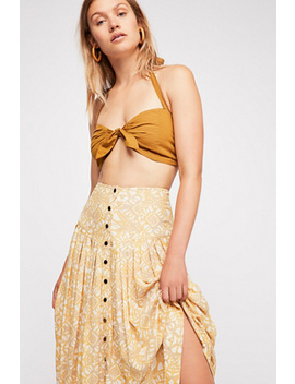 Lovers Dream Midi Skirt by Free People