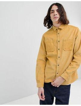 Asos Design – Gelbe Hemdjacke Aus Cord by Asos Design