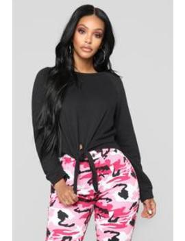 Riza Top   Black by Fashion Nova