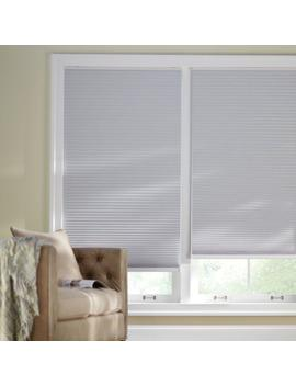 Shadow White 9/16 In. Cordless Blackout Cellular Shade   18 In. W X 64 In. L (Actual Size 17.625 In. W X 64 In. L) by Home Decorators Collection