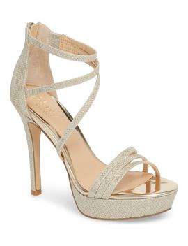Maeva Platform Sandal by Jewel Badgley Mischka