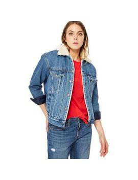 Levi's   Dark Blue 'trucker' Denim Jacket by Levi's