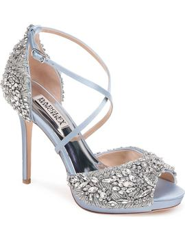 Hyper Crystal Embellished Sandal by Badgley Mischka