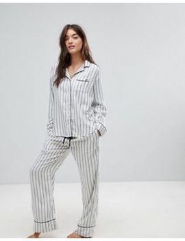 Abercrombie & Fitch Stripe Pyjama Set by Asos