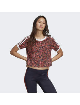 Active Icons Cropped Tee by Adidas