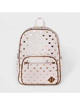 Mad Love Novelty Printed Canvas Backpack Handbag by Mad Love