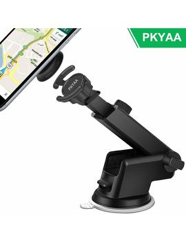 Car Mount For Pop Sockets, Pkyaa Pop Out Stand Mount For Pop Sockets With Telescopic Arm Big Suction On The Flat Surface Dashboard And Windshield, Pop Phone Holder Grip Easier Gps And Calls by Pkyaa