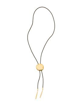 Chloe Leather Bolo Necklace by Gorjana