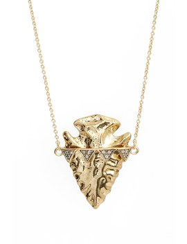 Arrowhead Pendant Necklace by House Of Harlow 1960