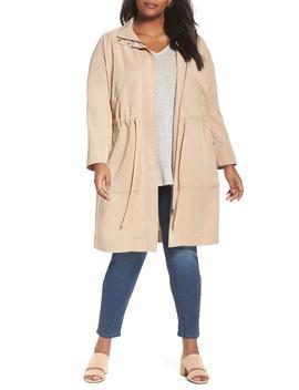 Long Utility Jacket (Plus Size) by Sejour