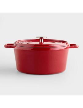 Cherry Round Dutch Oven by World Market