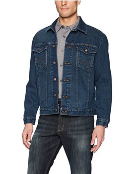 Wrangler Men's Western Style Denim Jacket by Wrangler