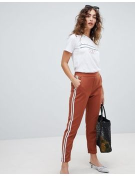 New Look Double Side Stripe Pants by New Look