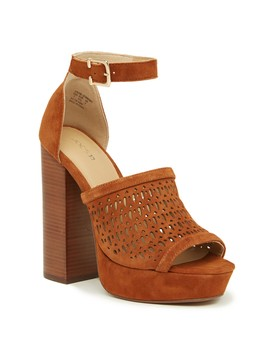 Lorne Perforated Platform Sandal by Joe's Jeans