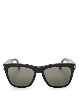 Women's Devon Oversized Square Sunglasses, 55mm by Saint Laurent