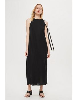 **Asymmetric Tie Sleeve Midi Dress By Boutique by Topshop