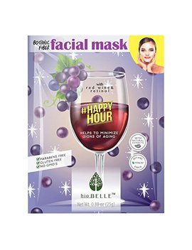 Biobelle #Happyhour Facial Mask, Pack Of 3 by Biobelle
