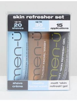 Men U Skin Refresher Set 3x15ml by Men ü