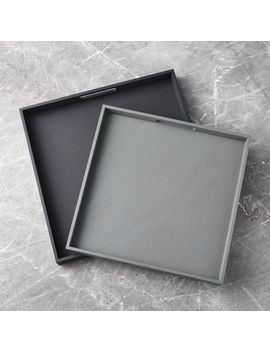 Roscoe Trays, Set Of 2 by Crate&Barrel