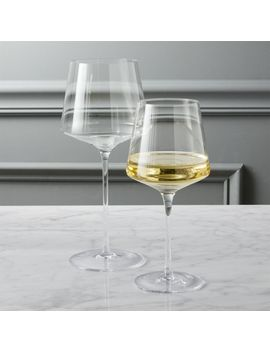 Muse Wine Glasses by Crate&Barrel