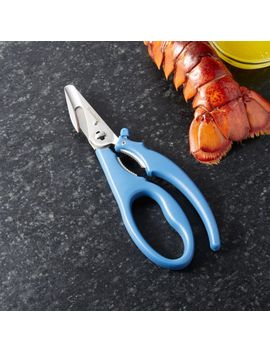 Blue Seafood Shears by Crate&Barrel