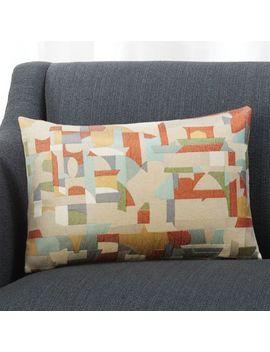 Pilar 18x12 Pillow by Crate&Barrel