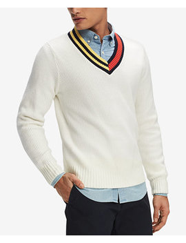Men's Hunter Sweater, Created For Macy's by Tommy Hilfiger