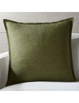"Linden 23"" Pillows by Crate&Barrel"