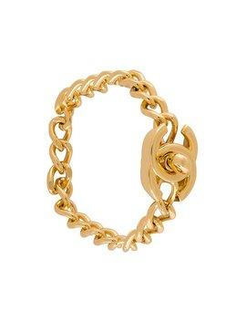 Turnlock Chain Bracelet by Chanel Vintage