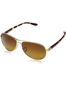 Oakley Women's Feedback Oo4079 Aviator Sunglasses by Oakley