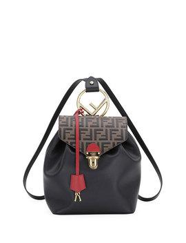 Cruise Ff Embossed Calf Backpack by Fendi