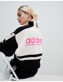 Adidas Originals Aa 42 Motorcross Track Jacket In Black by Adidas