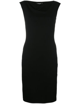 Dsquared2cowl Neck Dresshome Women Clothing Cocktail & Party Dresses by Dsquared2