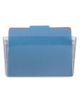 Officemate Wall File Letter Size, Clear (21434) by Officemate